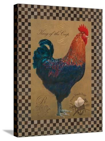 Country Living Rooster-Luanne D'Amico-Stretched Canvas Print