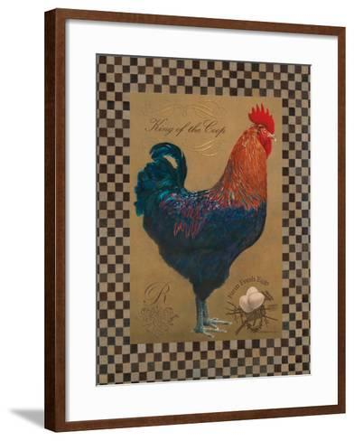 Country Living Rooster-Luanne D'Amico-Framed Art Print