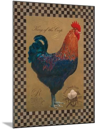 Country Living Rooster-Luanne D'Amico-Mounted Art Print