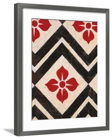 Zigzag Textile-Hope Smith-Framed Art Print