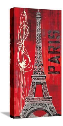 Paris Vibe-Evangeline Taylor-Stretched Canvas Print