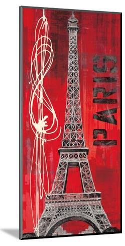 Paris Vibe-Evangeline Taylor-Mounted Art Print