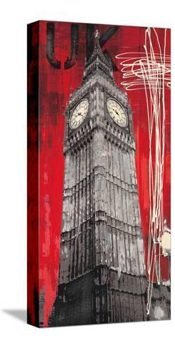 On British Time-Evangeline Taylor-Stretched Canvas Print