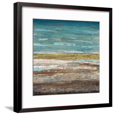 Abstract Sea 2-Dennis Dascher-Framed Art Print