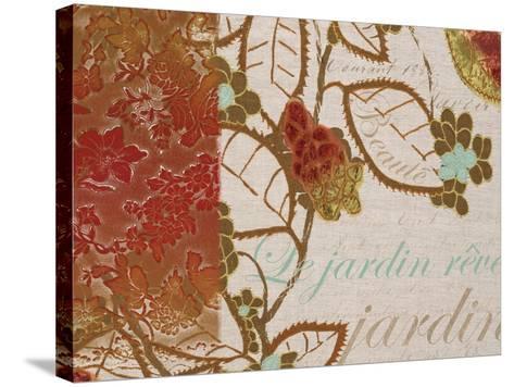 Garden Dreams-Kevin O'Brien-Stretched Canvas Print