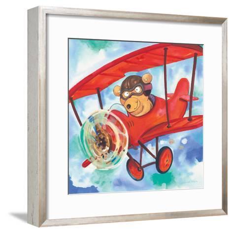 Action Bear-Scott Nelson-Framed Art Print