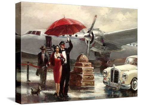Transcontinental Flight-Brent Heighton-Stretched Canvas Print