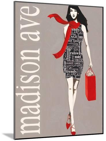 Fashion Type 1-Marco Fabiano-Mounted Art Print