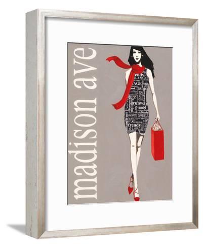 Fashion Type 1-Marco Fabiano-Framed Art Print