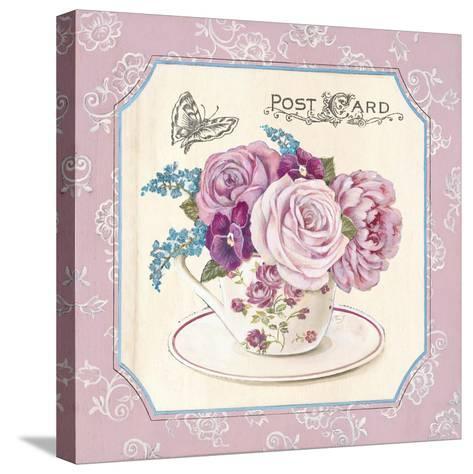 Teatime Roses-Stefania Ferri-Stretched Canvas Print