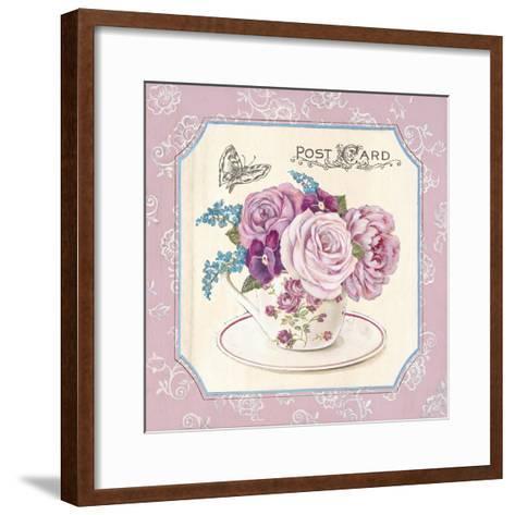 Teatime Roses-Stefania Ferri-Framed Art Print