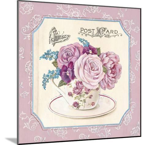 Teatime Roses-Stefania Ferri-Mounted Art Print