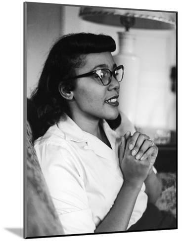 Civil Rights Icon Coretta Scott King, 1958-Moneta Sleet Jr.-Mounted Photographic Print