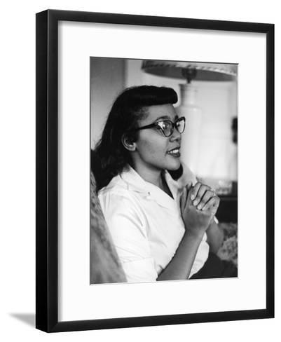 Civil Rights Icon Coretta Scott King, 1958-Moneta Sleet Jr.-Framed Art Print