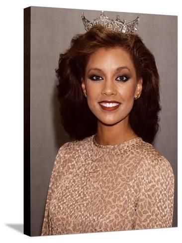 Vanessa Williams, Miss America, 1983-Moneta Sleet Jr.-Stretched Canvas Print