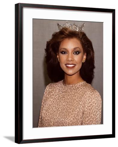 Vanessa Williams, Miss America, 1983-Moneta Sleet Jr.-Framed Art Print