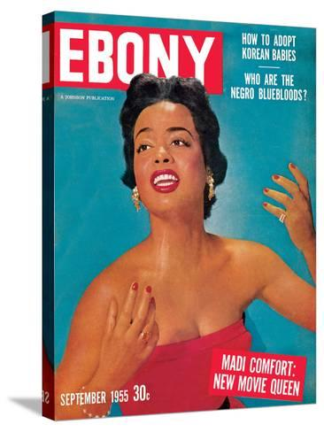 Ebony September 1955-Howard Morehead-Stretched Canvas Print