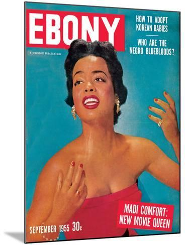 Ebony September 1955-Howard Morehead-Mounted Photographic Print