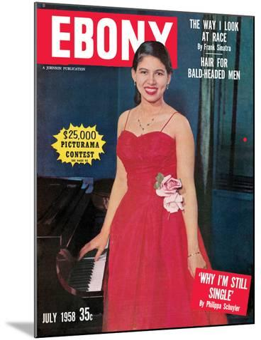 Ebony July 1958-G. Marshall Wilson-Mounted Photographic Print