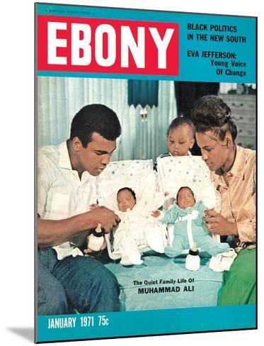Ebony January 1971-Isaac Sutton-Mounted Photographic Print