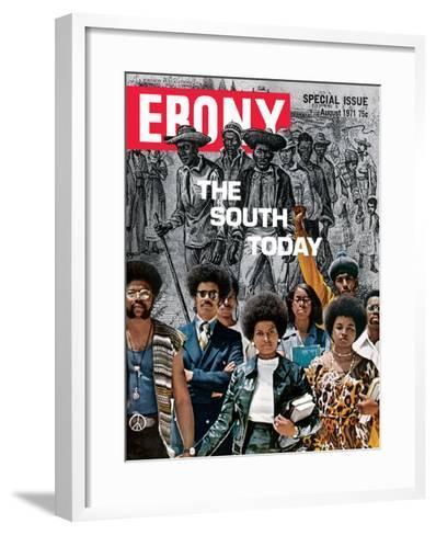 Ebony August 1971-Herbert Temple-Framed Art Print