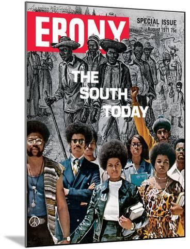 Ebony August 1971-Herbert Temple-Mounted Photographic Print