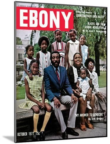 Ebony October 1971-Hal Franklin-Mounted Photographic Print
