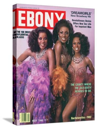 Ebony May 1982-Moneta Sleet Jr.-Stretched Canvas Print