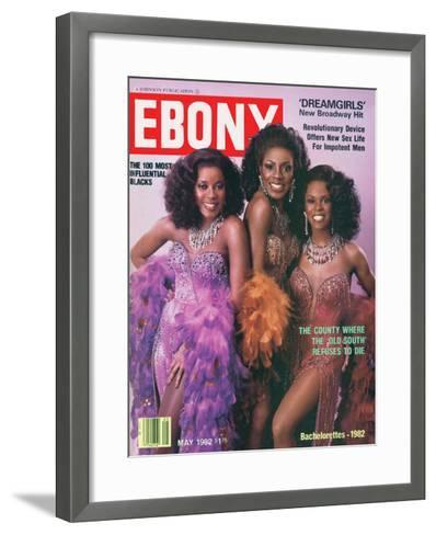 Ebony May 1982-Moneta Sleet Jr.-Framed Art Print