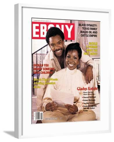 Ebony November 1982-Isaac Sutton-Framed Art Print