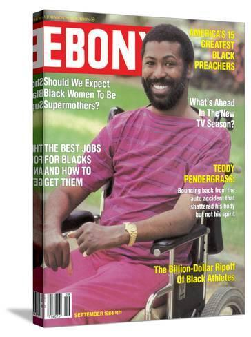 Ebony September 1984-Moneta Sleet Jr.-Stretched Canvas Print