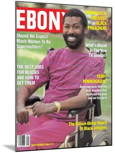Ebony September 1984-Moneta Sleet Jr.-Mounted Photographic Print