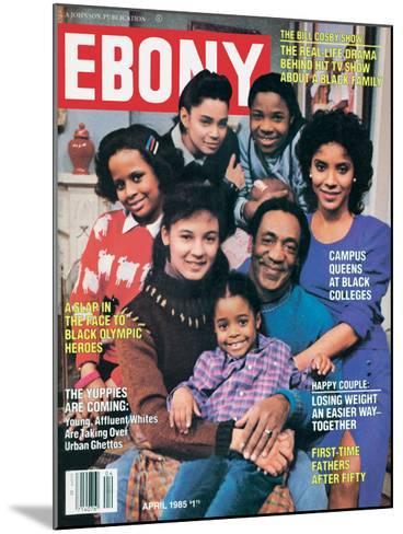 Ebony April 1985-Moneta Sleet Jr.-Mounted Photographic Print