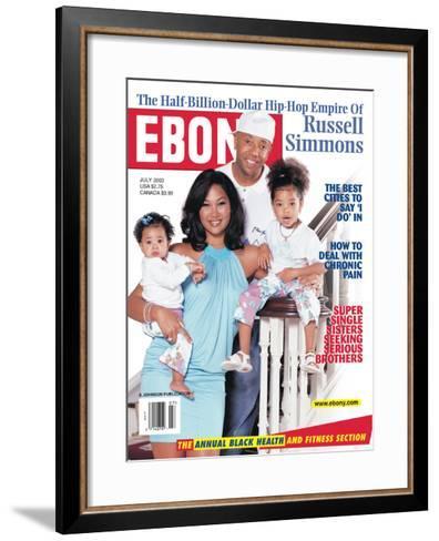 Ebony July 2003-Vandell Cobb-Framed Art Print