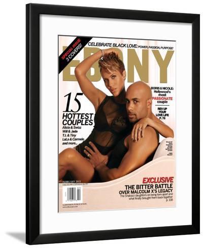 Ebony February 2011-Dudley Brooks-Framed Art Print