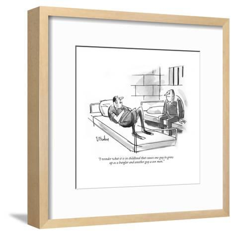"""""""Your Honor, I object to the tactics of Lattimore, Finchley, Wilburn & Hat?"""" - New Yorker Cartoon-Peter Arno-Framed Art Print"""