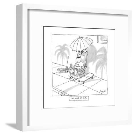 The King Of L.A. - New Yorker Cartoon Premium Giclee Print by Jack ...