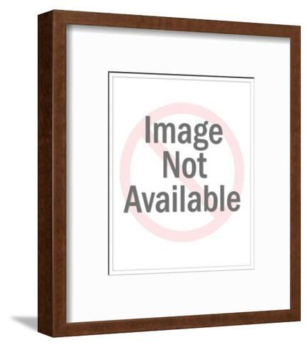 """""""The cracks can be fixed--it's your cholesterol level that worries me."""" - Cartoon-Leo Cullum-Framed Art Print"""
