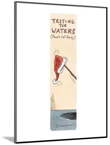 Testing the Waters  - Cartoon-Danny Shanahan-Mounted Premium Giclee Print