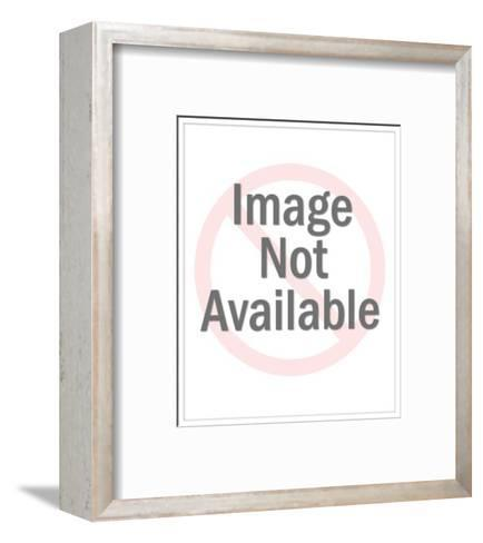 """""""This in no way alters my feelings about gun control."""" - Cartoon-Leo Cullum-Framed Art Print"""