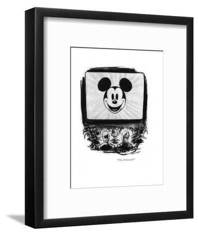 """Ah, Stokowski!"" - New Yorker Cartoon-Leonard Dove-Framed Art Print"