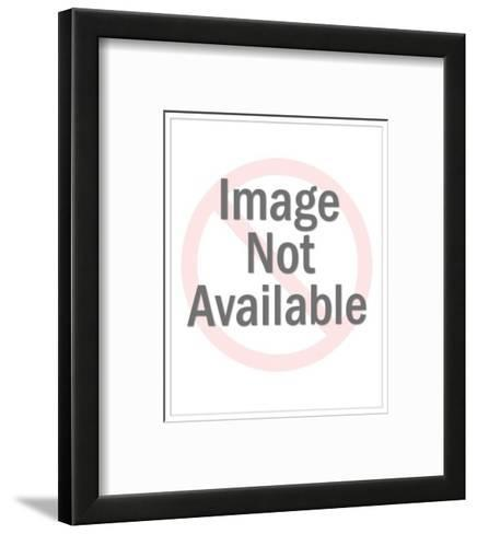 """""""Is it cold in here or is it just the Ice Age?"""" - New Yorker Cartoon-Mick Stevens-Framed Art Print"""