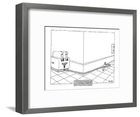 Toast Quest! - New Yorker Cartoon-Jack Ziegler-Framed Art Print