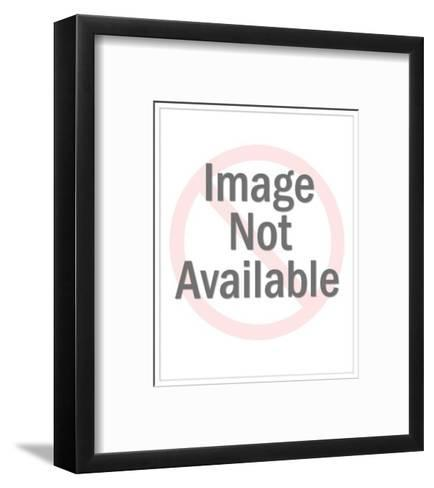 The Girl Who Can't Say No Meets The Boy Who Won't Grow Up' - New Yorker Cartoon-Mick Stevens-Framed Art Print