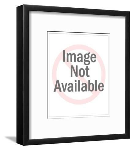 """""""You seem calm above the surface, but underneath I feel as if you're paddl?"""" - New Yorker Cartoon-Leo Cullum-Framed Art Print"""