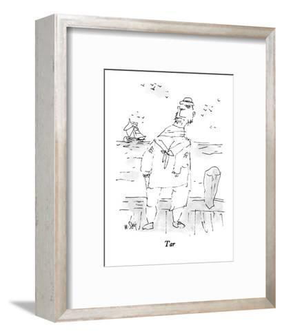 Tar - New Yorker Cartoon-William Steig-Framed Art Print