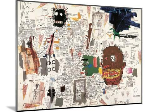 Untitled, 1987-Jean-Michel Basquiat-Mounted Giclee Print