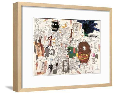 Untitled, 1987-Jean-Michel Basquiat-Framed Art Print