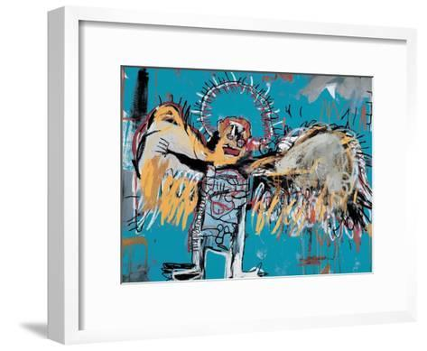 Untitled (Fallen Angel), 1981-Jean-Michel Basquiat-Framed Art Print