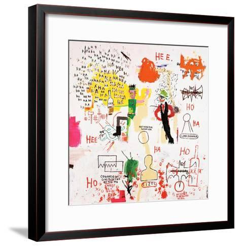 Riddle Me This, Batman, 1987-Jean-Michel Basquiat-Framed Art Print